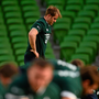 29 January 2016; Ireland's Luke Fitzgerald during squad training. Ireland Rugby Squad Open Training, Aviva Stadium, Lansdowne Road, Dublin. Picture credit: Ramsey Cardy / SPORTSFILE