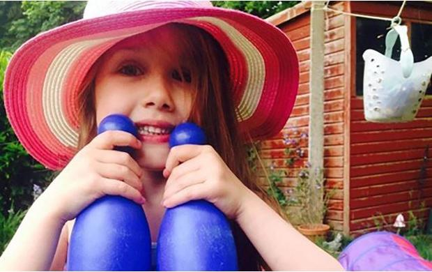 Summer Grant died after a bouncy castle she was playing in was blown away Photo: David Rose