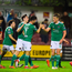 17 April 2018; Jimmy Keohane of Cork City celebrates with team-mate Sean McLoughlin after scoring his side's first goal during the SSE Airtricity League Premier Division match between Cork City and Sligo Rovers at Turner's Cross in Cork. Photo by Eóin Noonan/Sportsfile