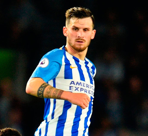 Pascal Gross in action Photo: Getty