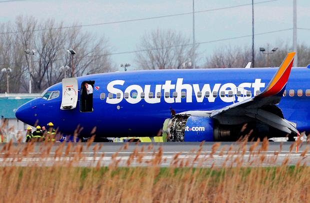 FAA orders fan blade inspections after Southwest engine explosion