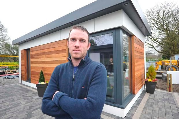 The company also builds smaller pods which can be used for offices or garden rooms (Photo: Seamus Farrelly)