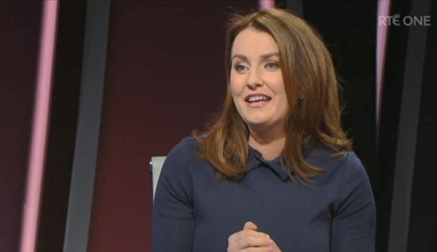 Mairead Ronan on Claire Byrne Live