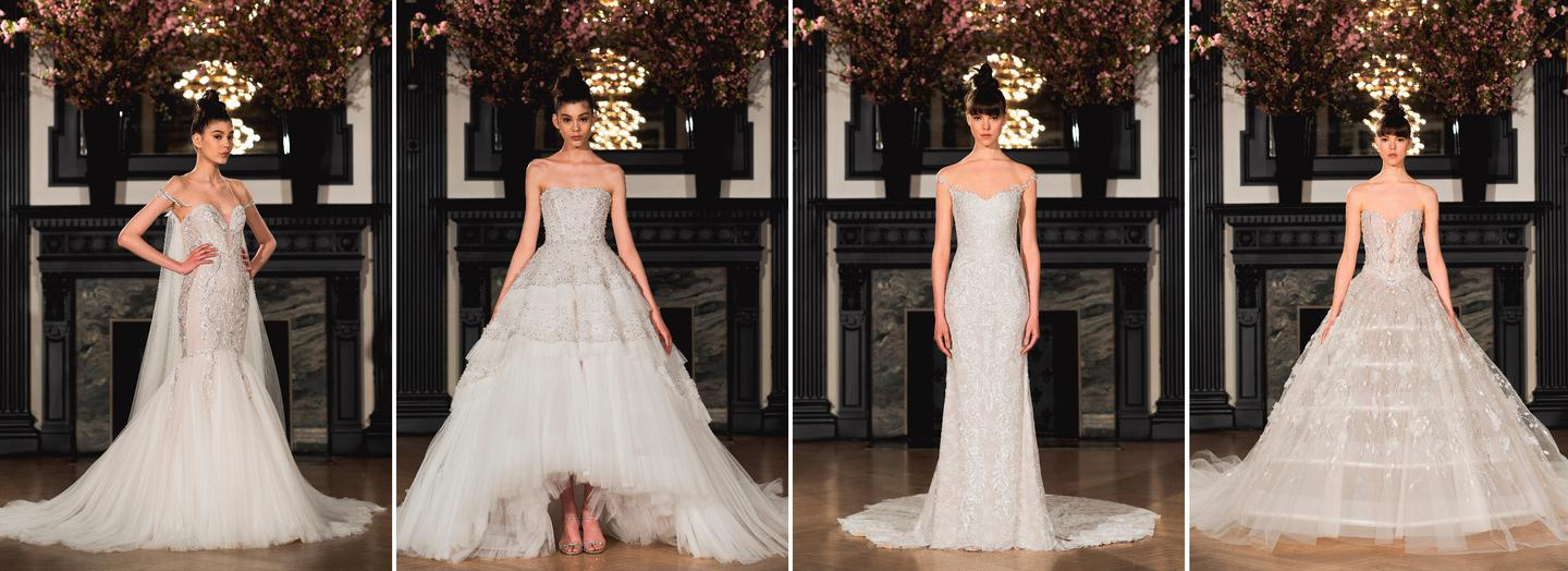New York Bridal Fashion Week: High couture from the Ines Di Santo ...