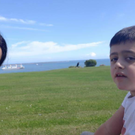 Sinead and Daniel together on holiday.