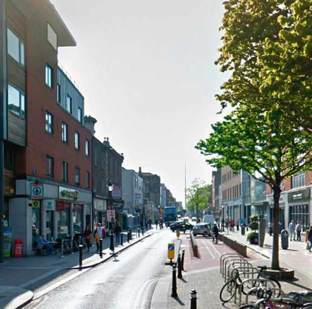 The attack happened on Dublin's Talbot Street last week Photo: Google Maps