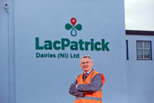 Gabriel D'Arcy of LacPatrick Dairies. Picture: Paul McErlane