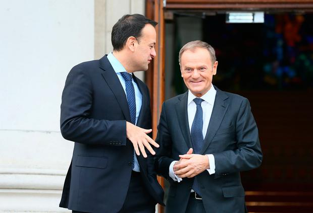 Donald Tusk issued fresh Brexit warning to the UK