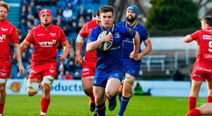The fitness of Luke McGrath to last the entire 80 minutes will be crucial to Leinster's chances against Scarlets. Photo by Brendan Moran/Sportsfile