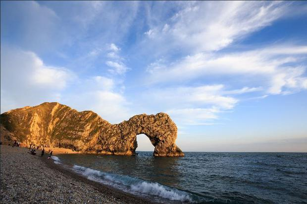 A view of Durdle Door in Dorset (John Walton/PA)
