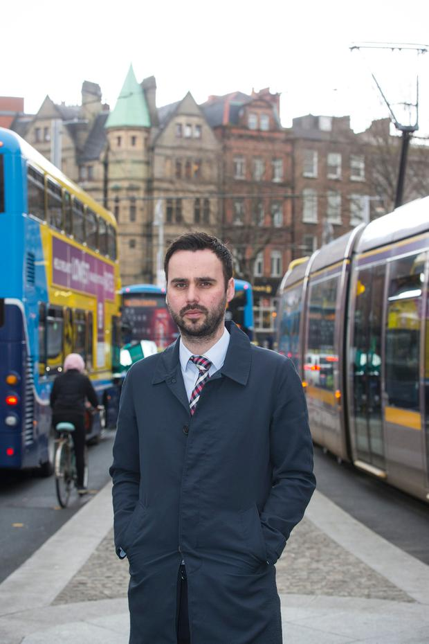 Vision for future: Graeme McQueen of the Dublin Chamber of Commerce says the Government needs to fast-track some of its transport projects. Photo: Mark Condren
