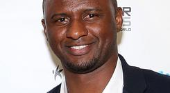 Patrick Vieira. Photo: Getty Images