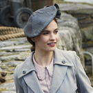 Love island: Lily James plays a young London writer who visits Guernsey