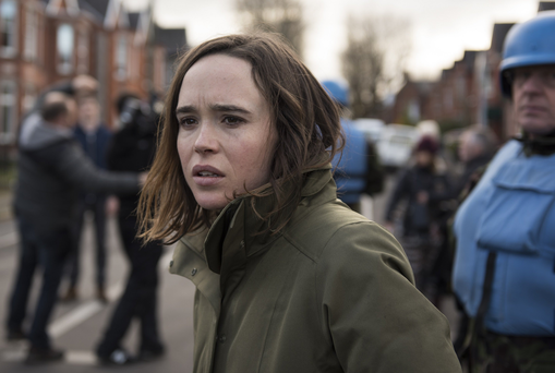 Celtic zombies: Ellen Page in The Cured