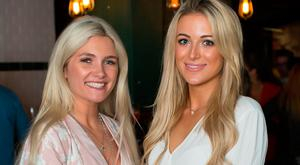 Niamh Cullen & Sophie Cosgrove at the launch of Kennedy's Station. Photo: Anthony Woods