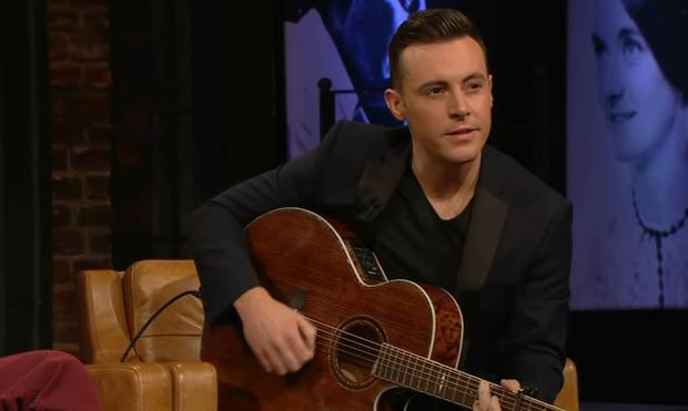 Nathan Carter on the Late Late Show Country Special, RTE One
