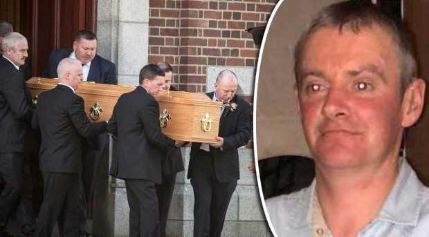 The funeral of Brian Hamilton took place in Drimnagh on Friday