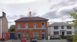 Bank of Ireland, Strokestown was targeted by four armed men