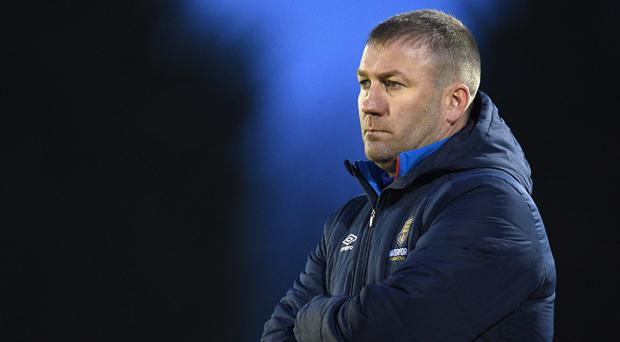 Waterford FC manager Alan Reynolds