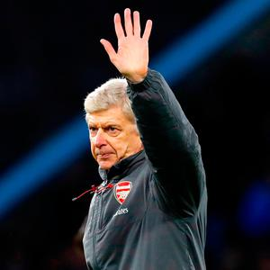 'This is a colossal story to write the final chapter of; not only on the pitch, but with Wenger's role in the English game as innovator, thinker, and, yes, guardian of dignity in an industry where denigration and disrespect have become the norm.' Photo: Martin Rickett/PA Wire