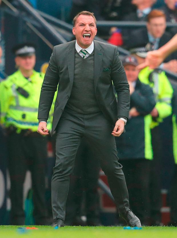 Brendan Rodgers: Admired. Photo: Andrew Milligan/PA Wire