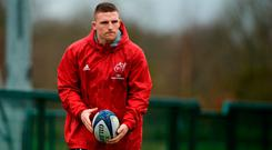 Andrew Conway will be hoping to make a big impact for Munster. Photo: Sportsfile