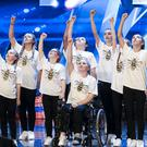 Dance act Rise during the audition stage for Britain's Got Talent (Tom Dymond/Syco/Thames)