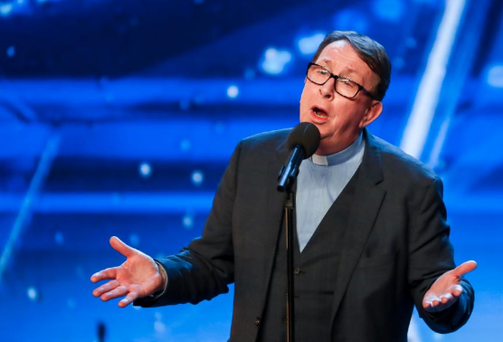 Irish priest wows Simon Cowell with unbelievable voice at BGT audition