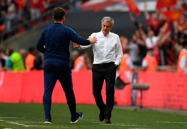 Jose Mourinho got the better of Mauricio Pochettino at Wembley