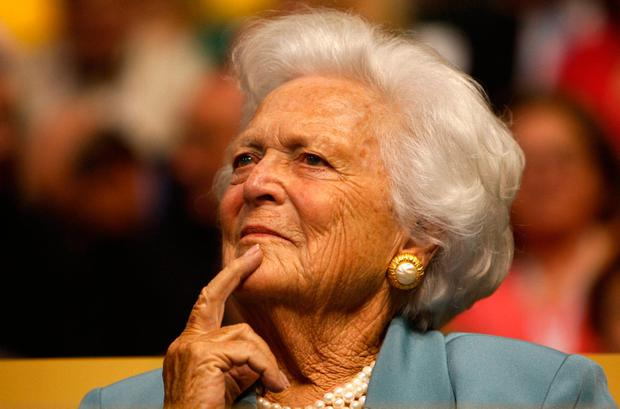 Former first lady Barbara Bush. Photo: Getty Images