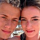 Abused: Alex Skeel was too terrified to report abuse from his girlfriend Jordan Worth who was jailed for seven years