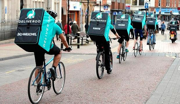 There are genuine concerns about the rights of cyclists delivering takeaways, but much else in common debate is just plain wrong. Photo: PA Wire