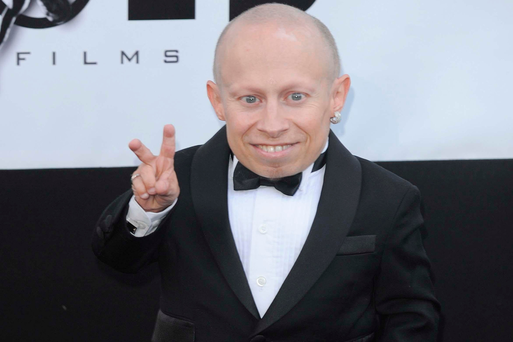 Verne Troyer at the AmfAR charity dinner at the Hotel Du Cap in Antibes, France. Photo: Ian West/PA Wire