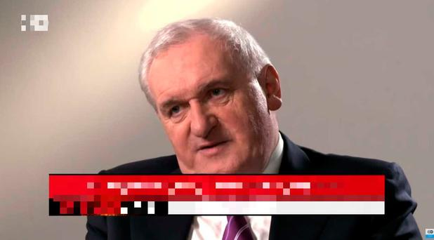 Bertie Ahern gets angry at the line of questioning on German broadcaster DE's Conflict Zone, especially about his finances and the Mahon Tribunal. Full video can be viewed on independent.ie