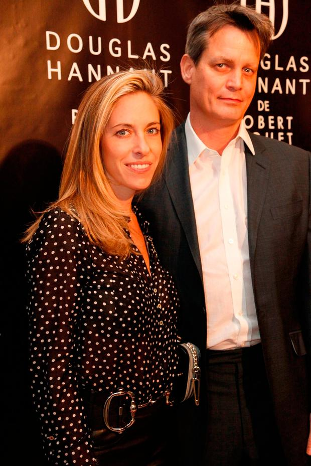 IF THE SHOE FITS: Tamara and Matthew Mellon