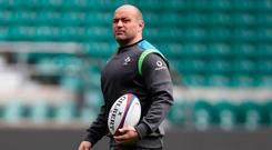 Not called: Rory Best. Photo: Getty