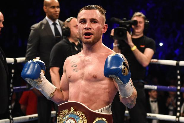 Carl Frampton will fight Warrington in December