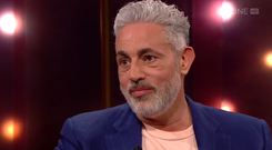 Baz Ashmawy on The Ray D'Arcy show. Photo: RTE