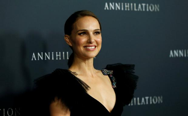 FILE PHOTO: Cast member Natalie Portman poses at the premiere for