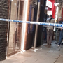 A man was rushed to hospital after a stabbing incident in Temple Bar in the early hours of Sunday morning