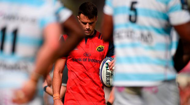 Conor Murray of Munster during the European Rugby Champions Cup semi-final match between Racing 92 and Munster Rugby at the Stade Chaban-Delmas in Bordeaux, France. Photo by Diarmuid Greene/Sportsfile