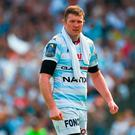 Donnacha Ryan of Racing 92 during the European Rugby Champions Cup semi-final match between Racing 92 and Munster Rugby at the Stade Chaban-Delmas in Bordeaux, France. Photo by Diarmuid Greene/Sportsfile