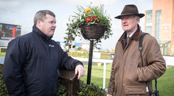 The battle between Gordon Elliot and Willie Mullins for the National Hunt Trainers Championship will take centre stage at Punchestown this week. Photo: Racing Post