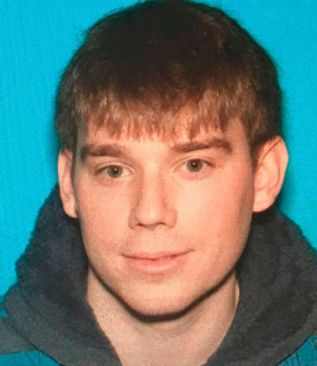Wanted man: Travis Reinking is the main suspect. (Metro Nashville Police Department via AP)