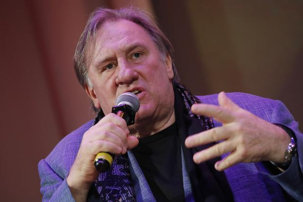 Actor Gerard Depardieu is one of the mainfesto's signatories. Photo: Getty Images