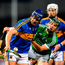 Tipperary's Jason Forde holds off Limerick's Sean Finn during their league semi-final in Thurles last month. Photo: Sportsfile