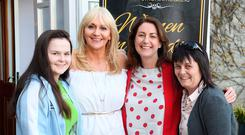 Tracey Kelliher, Listowel, Miriam O'Callaghan and Katie Hannon, RTÉ, and Jackie Kelliher from Listowel. Photo By Domnick Walsh