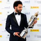 Mohamed Salah scoops the top prize at the PFA awards