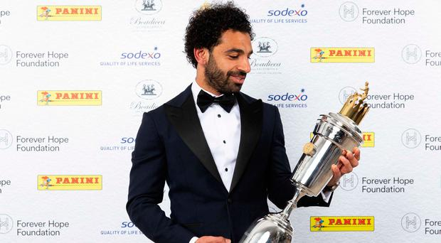 Mohamed Salah named PFA Premier League player of the year