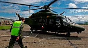 The Air Corps had carried out some medical transfers. Stock Image